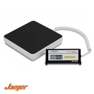 balanza-digital-de-piso-detecto-diagnostico-peso-jaeger-DR400c